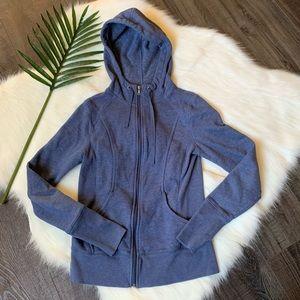Tek Gear fitted full zip hoodie sweater